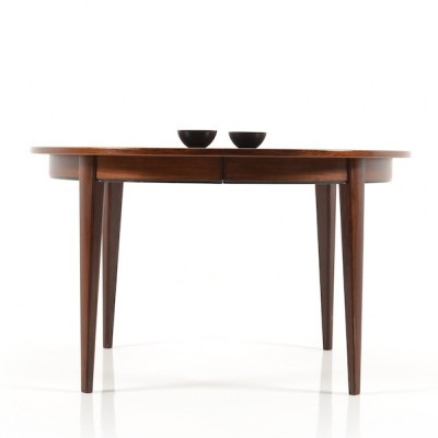 Model 55 dining table from the sixties by Gunni Omann for Omann Jun