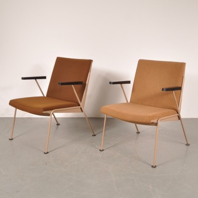 2 x lounge chair by Wim Rietveld for Ahrend de Cirkel, 1950s