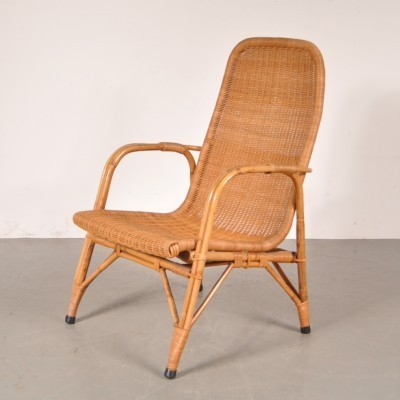 Lounge chair by Dirk van Sliedregt for Gebroeders Jonkers, 1950s