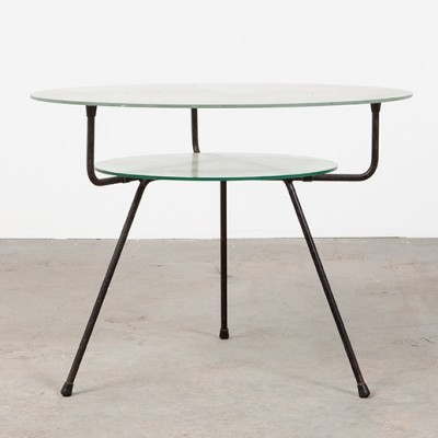 Model 509 coffee table by W. Gispen for Kembo, 1950s