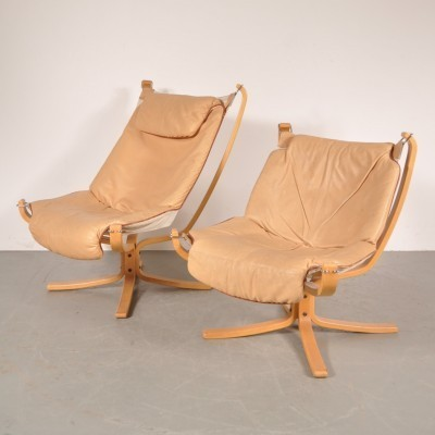 2 lounge chairs from the sixties by Sigurd Ressell for Vatne Møbler