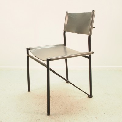 Set of 4 dinner chairs by Arnold Merckx for Metaform, 1980s