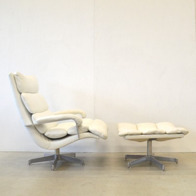Lounge chair from the sixties by Hans Kaufeld for unknown producer