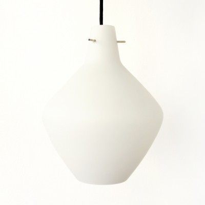 2 hanging lamps from the sixties by unknown designer for Stilnovo