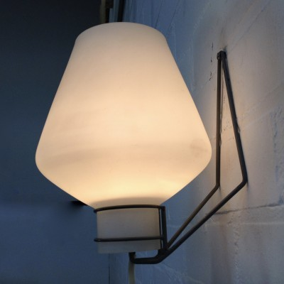 NX 54 E/00 wall lamp from the fifties by unknown designer for Philips