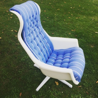 Galaxy lounge chair from the sixties by Alf Svensson & Yngvar Sandström for Dux