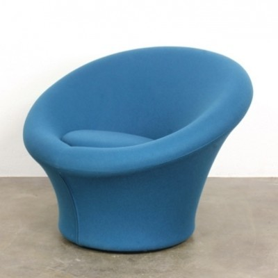 2 Mushroom lounge chairs from the sixties by Pierre Paulin for Artifort