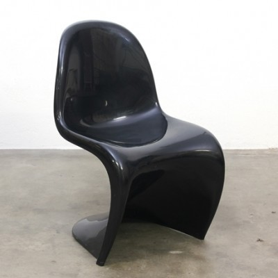 Panton dinner chair from the sixties by Verner Panton for Vitra