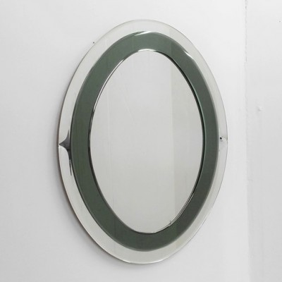 Mirror from the sixties by unknown designer for Cristal Luxor