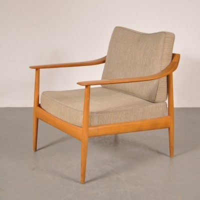 Arm chair from the fifties by Walter Knoll for Knoll Antimott