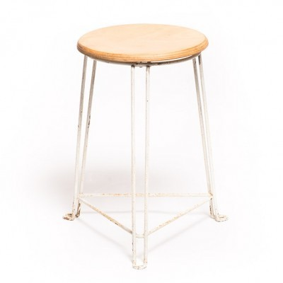 Tabouret stool from the forties by Jan van der Togt for Tomado Holland
