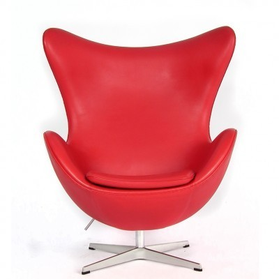 Egg lounge chair from the eighties by Arne Jacobsen for Fritz Hansen
