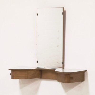 BR05 Wall Unit mirror by Cees Braakman for Pastoe, 1950s