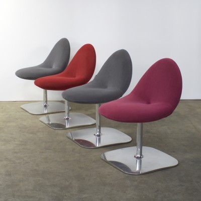 4 Conco lounge chairs from the nineties by Michel van der Kley for Artifort