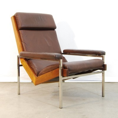 Lotus lounge chair from the sixties by Rob Parry for De Ster Gelderland
