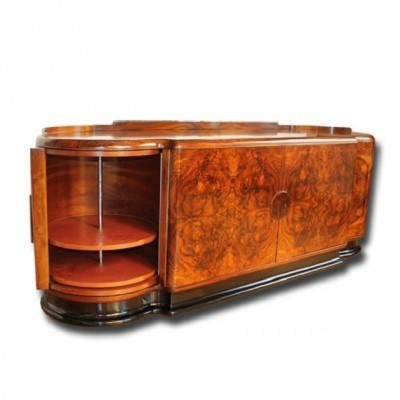 Art Deco sideboard from the thirties by Jindřich Halabala for UP Závody