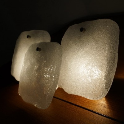 2 wall lamps from the sixties by JT Kalmar for Franken KG Germany
