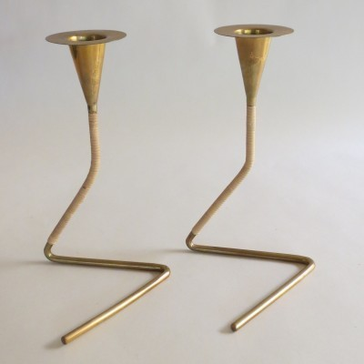 Carl Auböck Candle Holders, 1950s