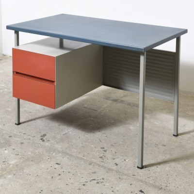 Model 3803 writing desk from the sixties by André Cordemeyer for Gispen