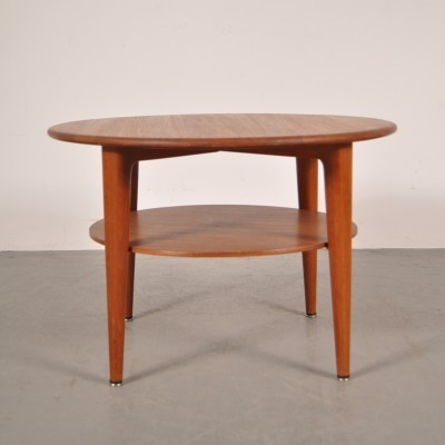Coffee table by Illum Wikkelsø for A. Mikael Laursen, 1960s
