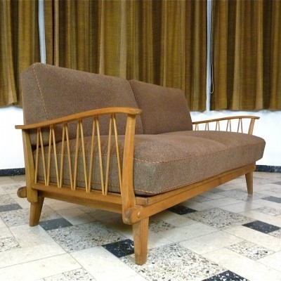Daybed from the sixties by unknown designer for Wilhelm Knoll
