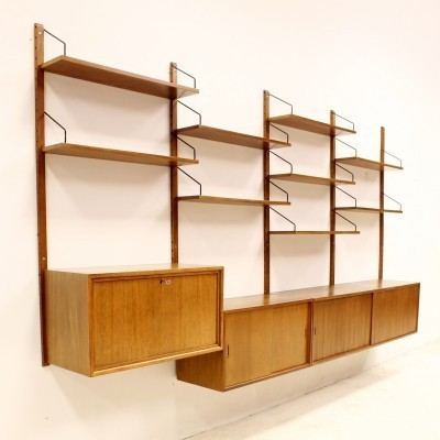 Wall unit from the sixties by Poul Cadovius for Royal System