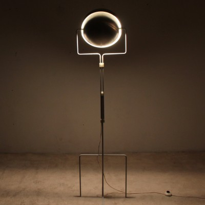 Eclipse floor lamp from the sixties by Evert Jelle Jelles for Raak Amsterdam
