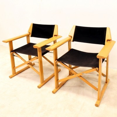 Pair of Reguitti arm chairs, 1960s