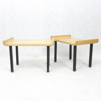 2 coffee tables from the fifties by unknown designer for unknown producer