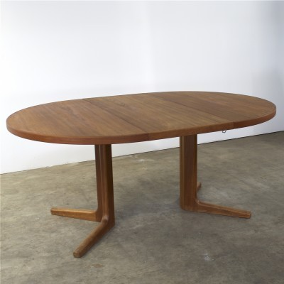 Dining table from the sixties by Niels O. Møller for Gudme Møbelfabrik