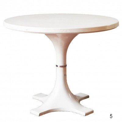 4993 dining table from the sixties by Ignazio Gardella & Anna Castelli for Kartell