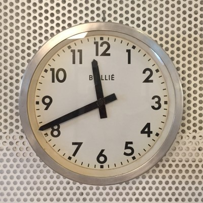 Clock from the sixties by unknown designer for BRILLIE
