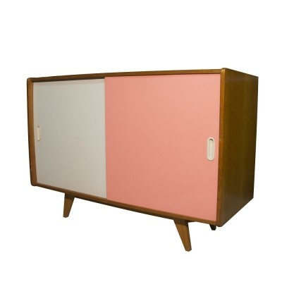 U-452 cabinet from the sixties by Jiří Jiroutek for Interier Praha