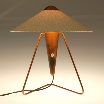 Set of 2 desk lamps from the fifties by Helena Frantova for Okolo