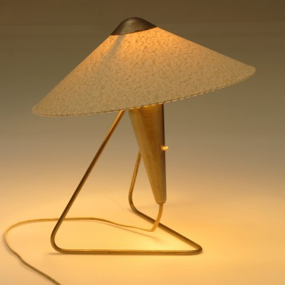Pair of desk lamps by Helena Frantova for Okolo, 1950s