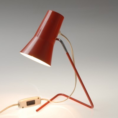 Model 21616 desk lamp by Josef Hůrka for Drupol, 1960s