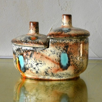 Ceramic Tableware from the fifties by unknown designer for Penzo Amsterdam
