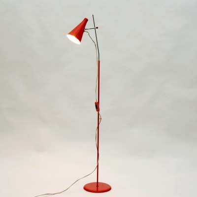 Floor lamp by Josef Hůrka for Lidokov, 1960s