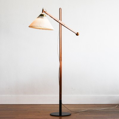 Model 325 floor lamp by Vilhelm Wohlert for Le Klint, 1950s