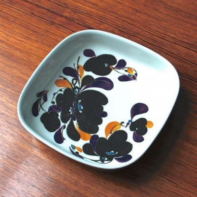 Plate from the seventies by Ivan Weiss for Royal Copenhagen
