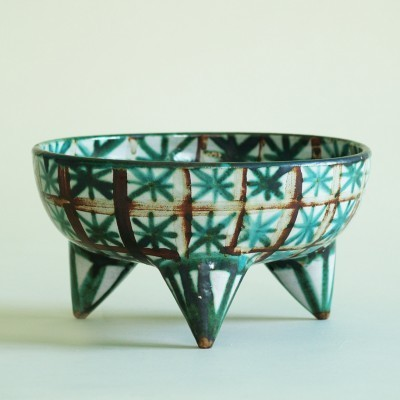 Bowl Trois Pieds from the forties by Robert Picault for Vallauris