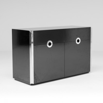 Cabinet from the seventies by Willy Rizzo for Willy Rizzo