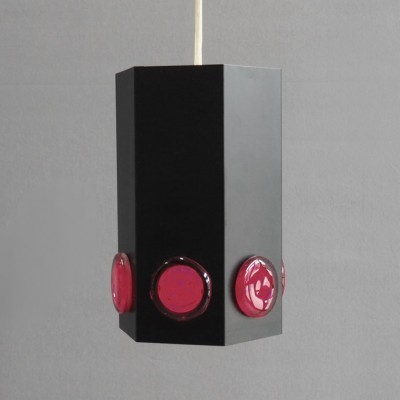 2 hanging lamps from the sixties by unknown designer for Holm Sørensen & Co