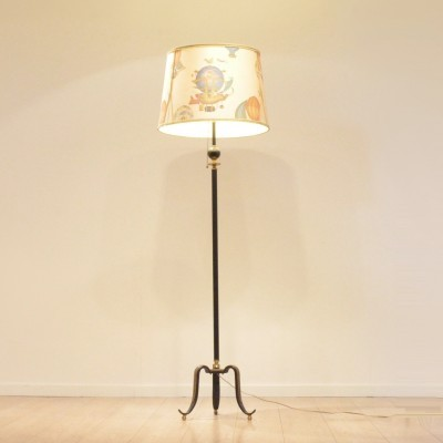 Piero Fornasetti floor lamp, 1950s