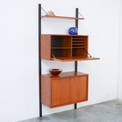 Wall unit from the fifties by Poul Cadovius for Royal System