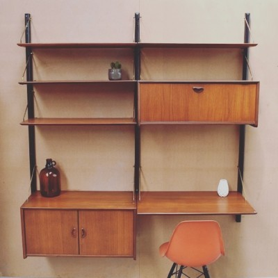 Wall unit from the fifties by Louis van Teeffelen for Wébé