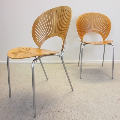 6 x Trinidad dinner chair by Nanna Ditzel for Fredericia, 1990s