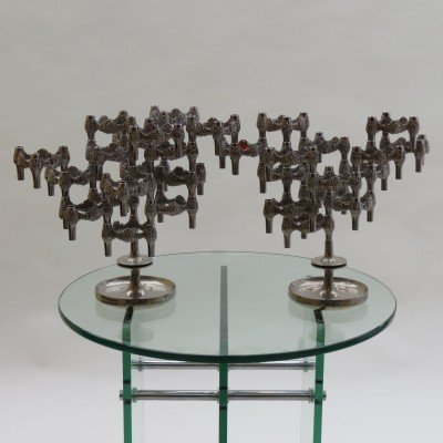 Variomaster Candle Holders from the sixties by unknown designer for Quist Germany