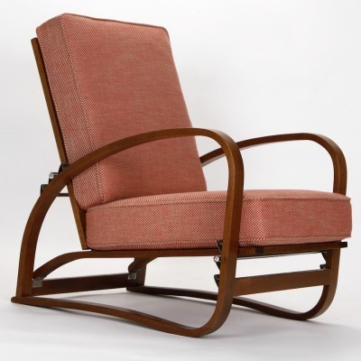 Model H - 70 arm chair by Jindřich Halabala for Spojene UP Zavody, 1930s