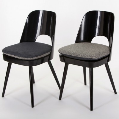 Set of 4 dinner chairs from the sixties by Oswald Haerdtl for Ton N. P. Bystřice pod Hostýnem